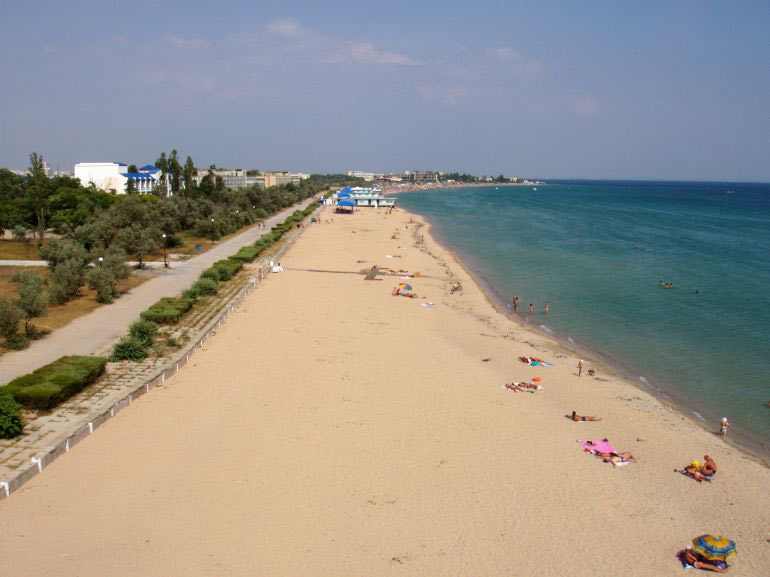 фото пляж евпатория