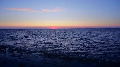 Закат на Каркинитском заливе